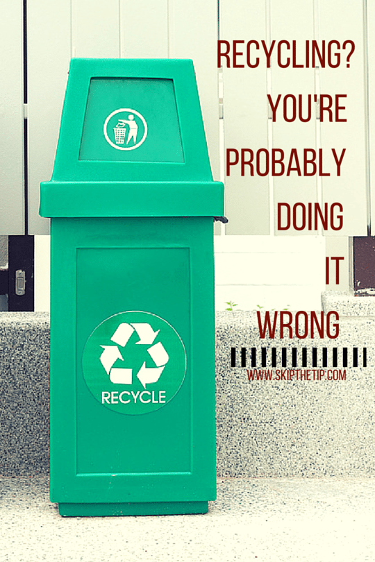 Recycling? You're Probably Doing It Wrong - Skip bin hire, Skip bins Newcastle, Newcastle skip bins