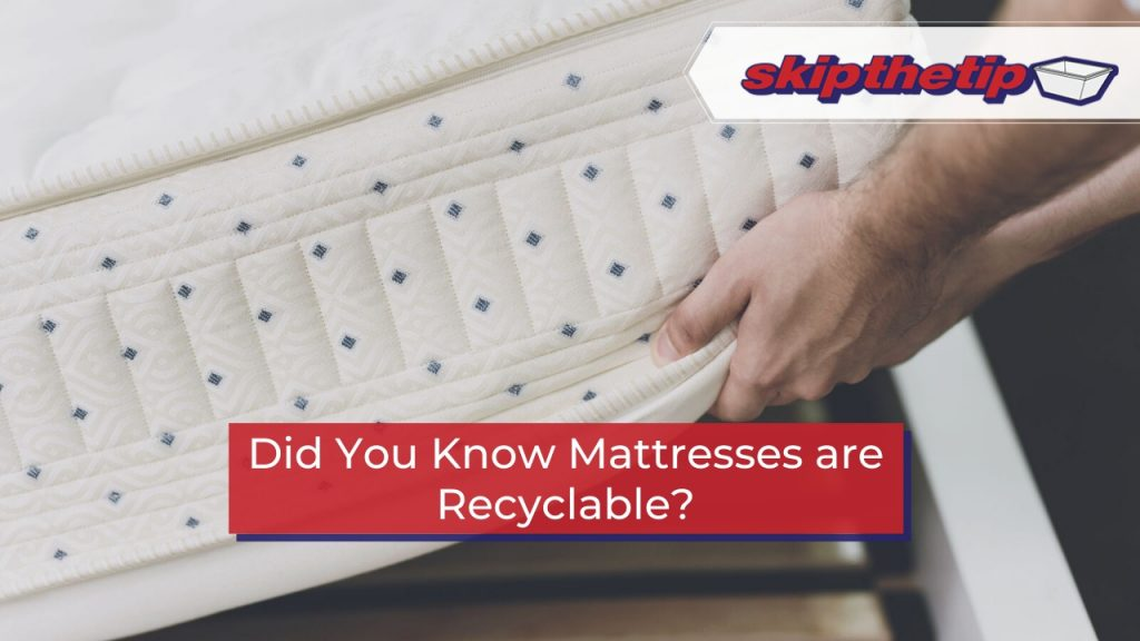 Did You Know Mattresses are Recyclable