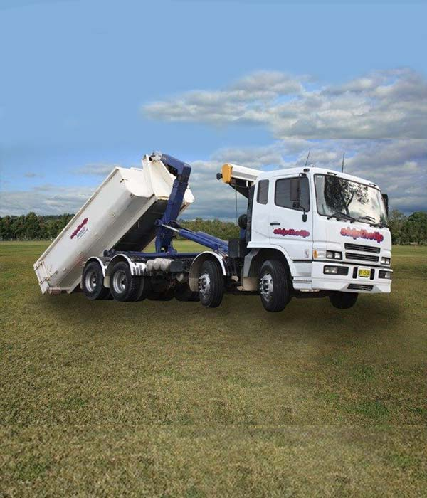 10m3 Hook Lift Skip Bin Hire Newcastle NSW